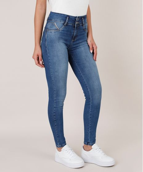 Calca-Jeans-Feminina-Sawary-Super-Skinny-com-Bojo-Azul-Escuro-9811691-Azul_Escuro_1