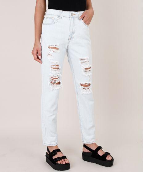 Calca-Jeans-Feminina-Mom-Destroyed-Azul-Claro-9828361-Azul_Claro_1