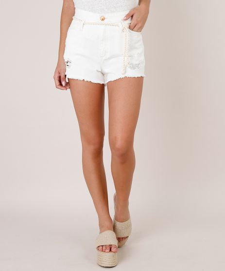 Short-de-Sarja-Feminino-Mom-Destroyed-Barra-Desfiada-com-Cordao-Off-White-9753720-Off_White_1