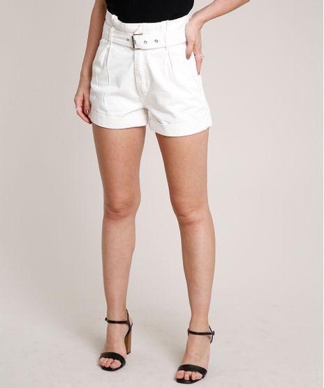 Short-de-Sarja-Feminino-Clochard-com-Cinto-Barra-Dobrada-Off-White-9758597-Off_White_1