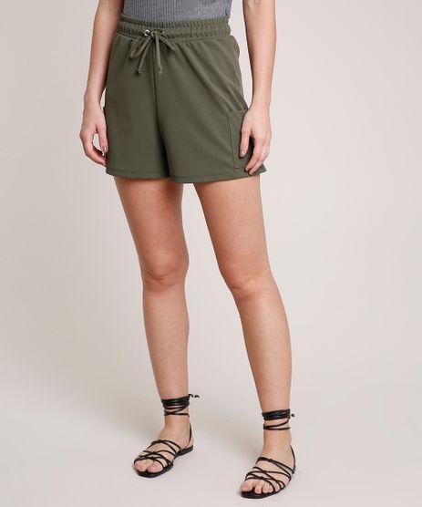 Short-Feminino-Cargo-com-Cordao-Verde-Militar-9721863-Verde_Militar_1