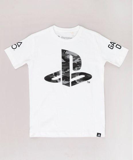 Camiseta-Infantil-PlayStation-Manga-Curta-Off-White-9732797-Off_White_1