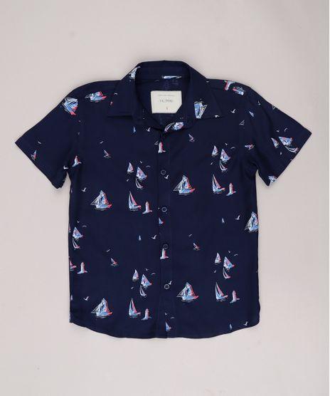 Camisa-Infantil-Estampada-de-Barcos-Manga-Curta-Azul-Marinho-9774692-Azul_Marinho_1