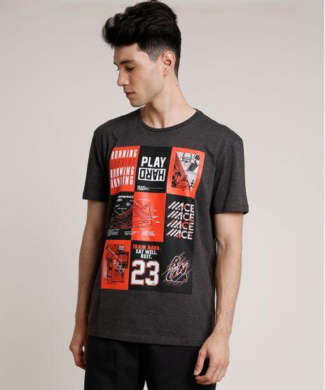 Camiseta-Masculina-Esportiva-Ace--Play-Hard--Manga-Curta-Gola-Careca-Cinza-Mescla-Escuro-9716365-Cinza_Mescla_Escuro_1