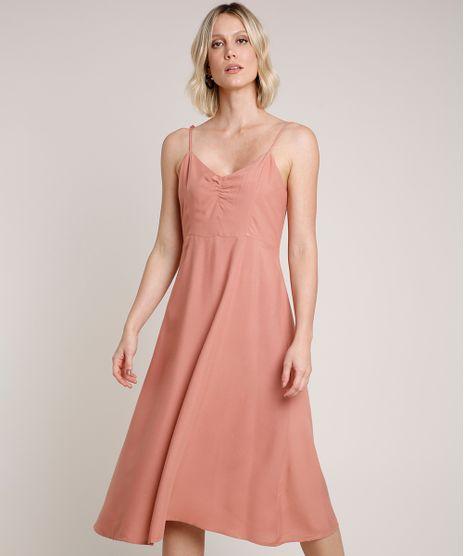 Vestido-Feminino-Midi-Alca-Fina-Decote-V-Rose-Escuro-9653555-Rose_Escuro_1