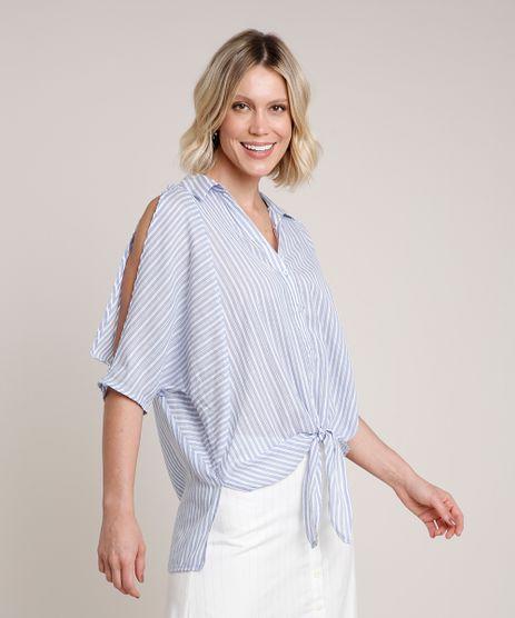 Camisa-Feminina-Longa-Open-Shoulder-Listrada-com-No-Manga-3-4-Azul-9654723-Azul_1