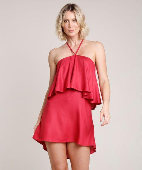 Vestido-Feminino-Curto-Frente-Unica-com-Babado-Vinho-9645440-Vinho_1
