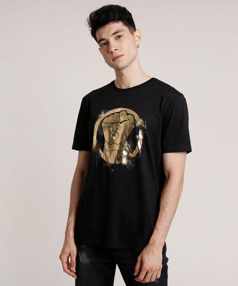 Camiseta-Masculina-Os-Vingadores-Manopla-do-Infinito-Manga-Curta-Gola-Careca-Preta-9719884-Preto_1