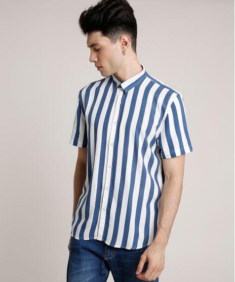 Camisa-Masculina-Tradicional-Listrada-Manga-Curta-Off-White-9729638-Off_White_1