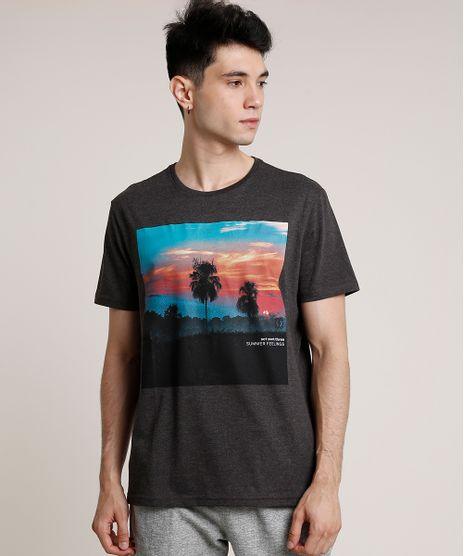 Camiseta-Masculina-com-Estampa-de-Paisagem-Manga-Curta-Gola-Careca-Cinza-Mescla-Escuro-9717901-Cinza_Mescla_Escuro_1