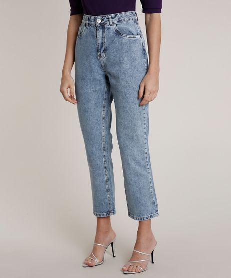 Calca-Jeans-Feminina-Mindset-Reta-Azul-Claro-9830534-Azul_Claro_1