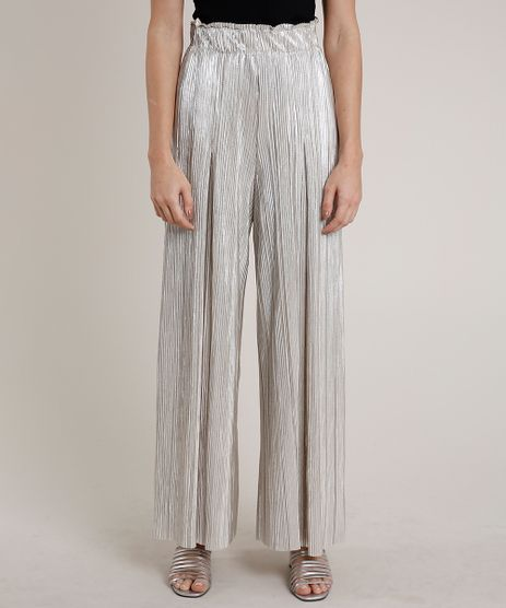 Calca-Feminina-Mindset-Pantalona-Metalizada-Plissada-Bege-Claro-9655200-Bege_Claro_1