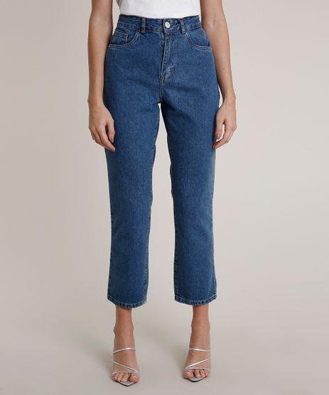 Calca-Jeans-Feminina-Mindset-Reta-Azul-Medio-9831042-Azul_Medio_1