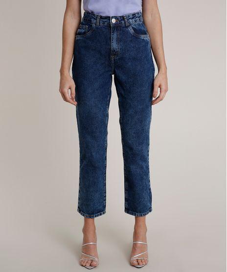 Calca-Jeans-Feminina-Mindset-Reta-Azul-Escuro-9825708-Azul_Escuro_1