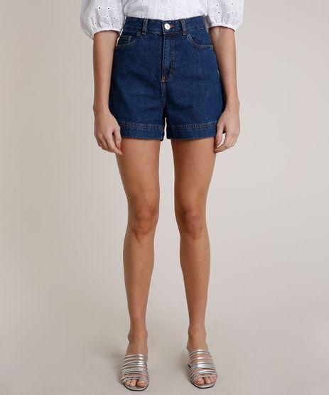 Short-Jeans-Feminino-Mindset-Cintura-Super-Alta-Azul-Escuro-9847815-Azul_Escuro_1