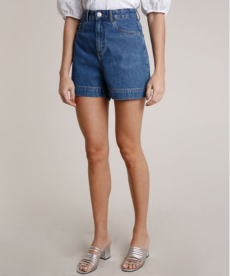 Short-Jeans-Feminino-Mindset-Cintura-Super-Alta-Azul-Medio-9847816-Azul_Medio_1