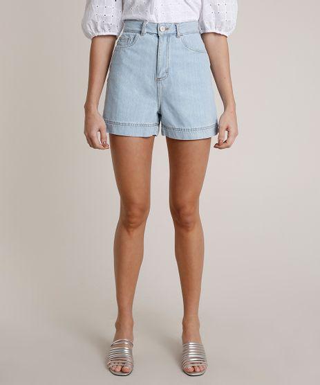Short-Jeans-Feminino-Mindset-Cintura-Super-Alta-Azul-Claro-9839458-Azul_Claro_1