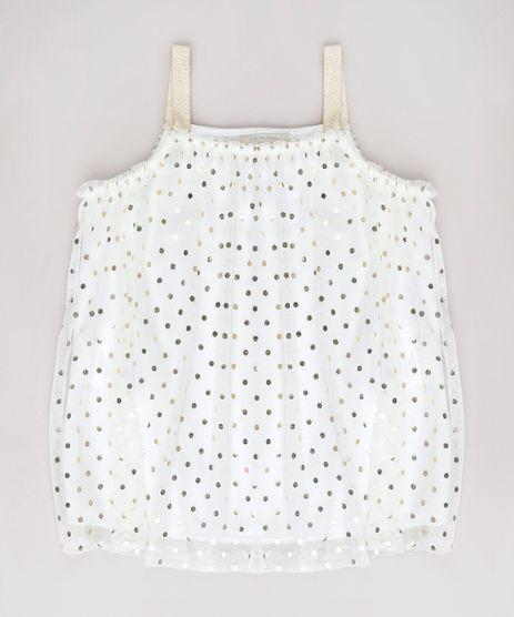 Blusa-Infantil-em-Tule-Estampado-de-Poa-Metalizado-Alcas-Finas-Off-White-9748633-Off_White_1