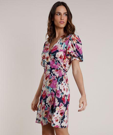 Vestido-Feminino-Mindset-Curto-Envelope-Estampado-Floral-Manga-Curta-Azul-Marinho-9849838-Azul_Marinho_1