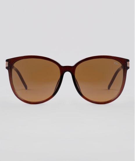 Oculos-de-Sol-Redondo-Feminino-Yessica-Marrom-9834252-Marrom_1