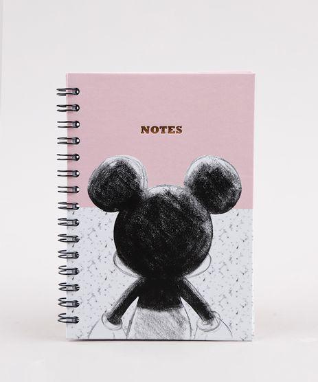 Caderno-Mickey-Estampado-com-Pauta-21x14-5-Rosa-9772767-Rosa_1