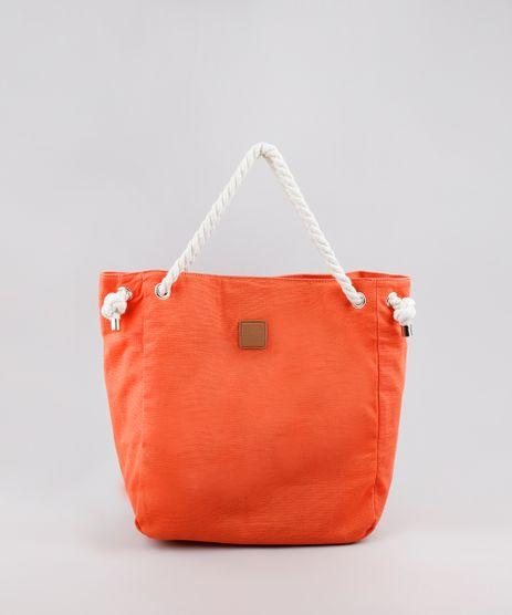 Bolsa-Feminina-Shopper-Grande-com-Alca-de-Corda-Laranja-9602426-Laranja_1
