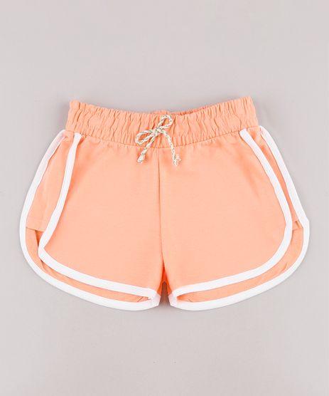 Short-Infantil-Running-em-Moletom-com-Vies-Coral-9744604-Coral_1