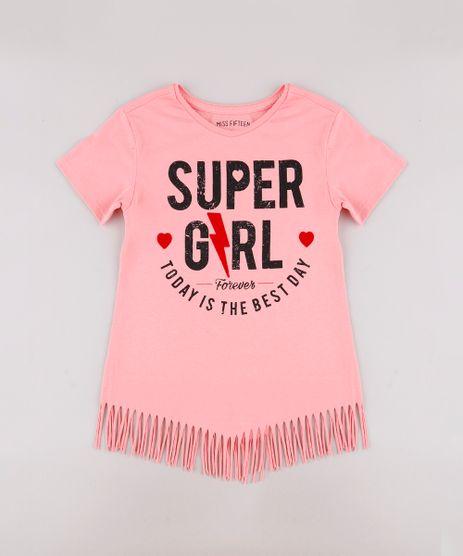 Blusa-Infantil--Super-Girl--com-Franjas-Manga-Curta-Rosa-9741318-Rosa_1