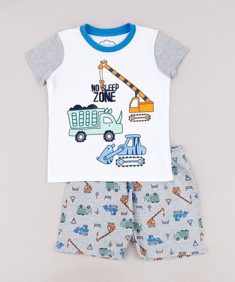 Pijama-Infantil-Carrinhos-Manga-Curta--Off-White-9762290-Off_White_1