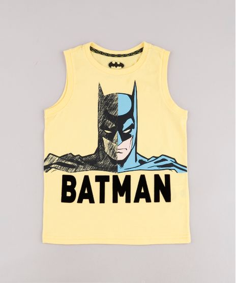 Regata-Infantil-Batman-Amarela-9742569-Amarelo_1