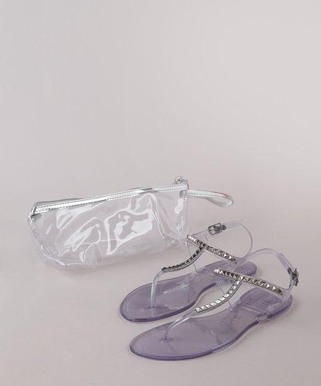 Kit-de-Rasteira-Feminina-Oneself-com-Tachas---Necessaire-Transparente-9827572-Transparente_1