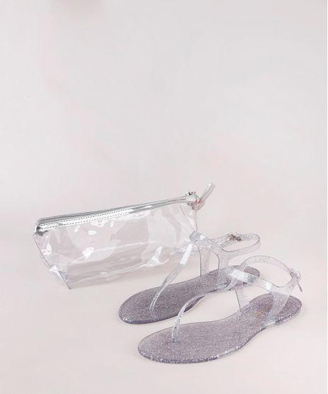 Kit-de-Rasteira-Feminina-Oneself-Transparente-com-Glitter---Necessaire-Prateada-9827568-Prateada_1