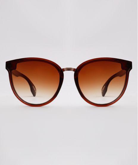 Oculos-de-Sol-Redondo-Feminino-Yessica-Marrom-9845948-Marrom_1