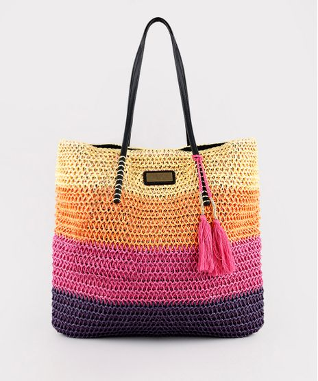 Bolsa-Feminina-Triya-Shopper-Grande-em-Palha-Listrada-Roxa-9705751-Roxo_1