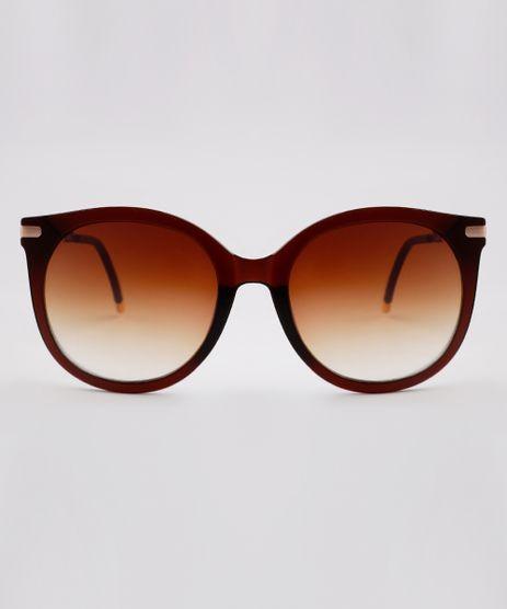 Oculos-de-Sol-Redondo-Feminino-Yessica-Marrom-9845921-Marrom_1