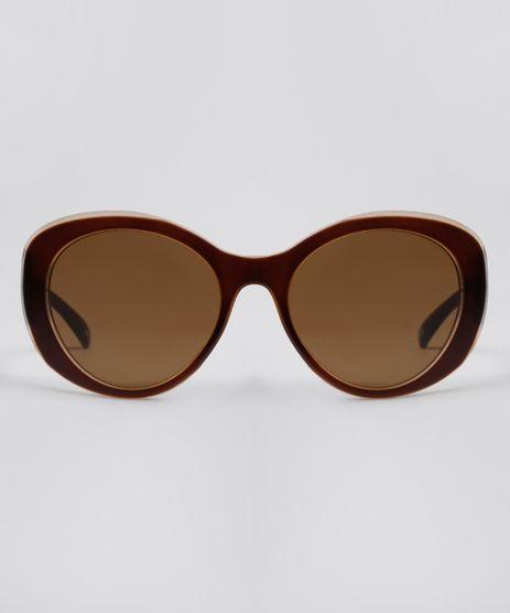 Oculos-de-Sol-Redondo-Feminino-Yessica-Marrom-9678954-Marrom_1