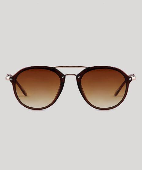 Oculos-de-Sol-Redondo-Feminino-Yessica-Marrom-9836113-Marrom_1