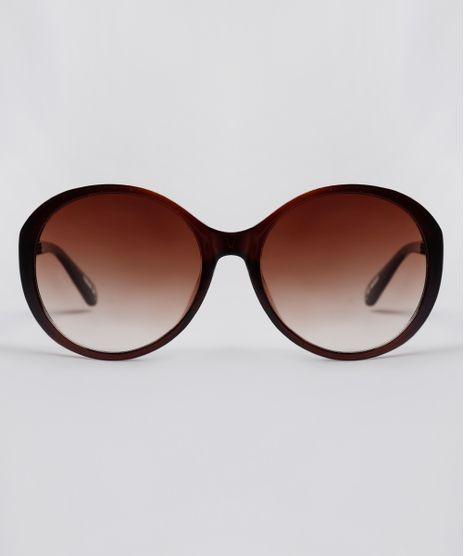 Oculos-de-Sol-Redondo-Feminino-Yessica-Marrom-9845900-Marrom_1