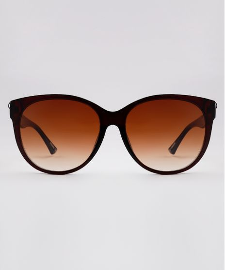 Oculos-de-Sol-Redondo-Feminino-Yessica-Marrom-9845894-Marrom_1