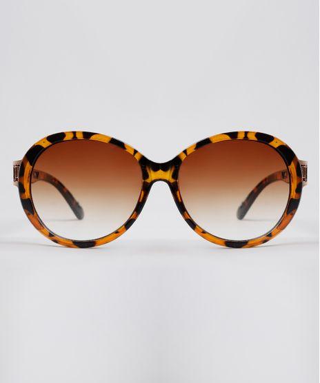 Oculos-de-Sol-Redondo-Feminino-Yessica-Tartaruga-9845951-Tartaruga_1