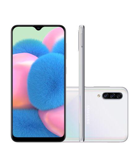 Menor preço em Smartphone Samsung A307GT Galaxy A30S 64GB Branco - Único