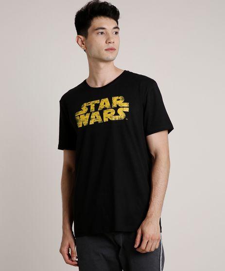 Camiseta-Masculina-Star-Wars-Manga-Curta-Gola-Careca-Preta-9719806-Preto_1