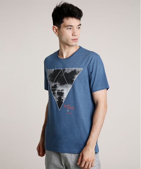 Camiseta-Masculina--Lost-in-Paradise--Manga-Curta-Gola-Careca-Azul-9593811-Azul_1
