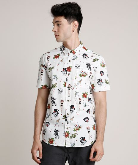 Camisa-Masculina-Estampada-Tatuagens-com-Bolso-Manga-Curta-Off-White-9660418-Off_White_1
