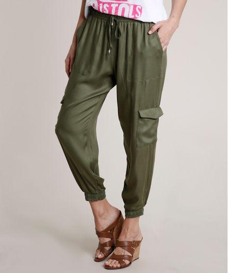 Calca-Feminina-Jogger-Cargo-Verde-Militar-9823402-Verde_Militar_1