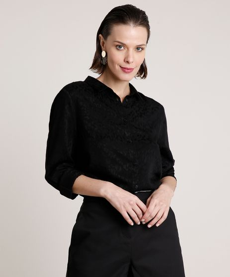 Camisa-Feminina-Animal-Print-Onca-Manga-Longa-Preta-9661296-Preto_1