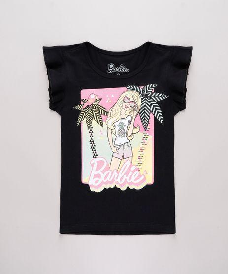 Blusa-Infantil-Barbie-Tropical-com-Glitter-Babado-na-Manga-Preta-9762713-Preto_1