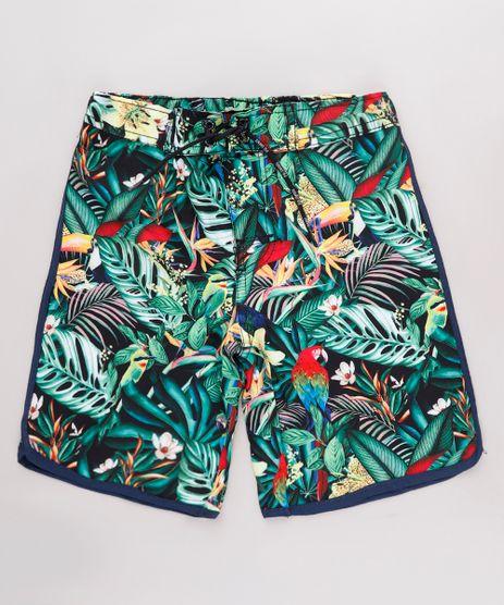 Bermuda-Surf-Infantil-Estampada-Tropical-Verde-9667436-Verde_1