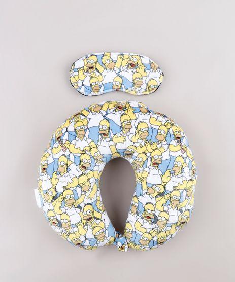 Kit-de-Apoio-de-Pescoco-Homer-Simpson-Estampado---Tapa-Olho-Branco-9810721-Branco_1