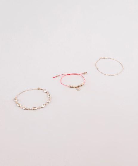 Kit-de-3-Pulseiras-Femininas-Folheadas-Dourado-9775335-Dourado_1